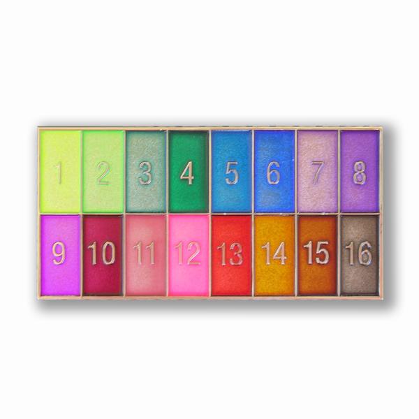 Transparent Challenge Coin Paint color chart